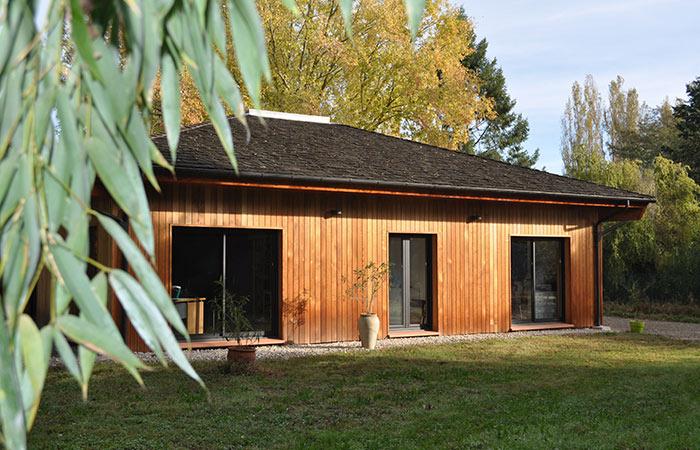 00 Construction-maison-bois Finalisee in Construction maison bois - Labarthe/Lèze (31)