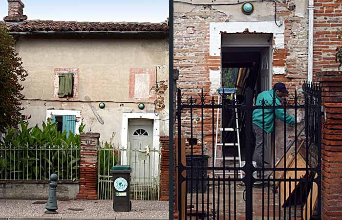 01 Facade-avant-travaux in Rénovation maison Toulouse (31)