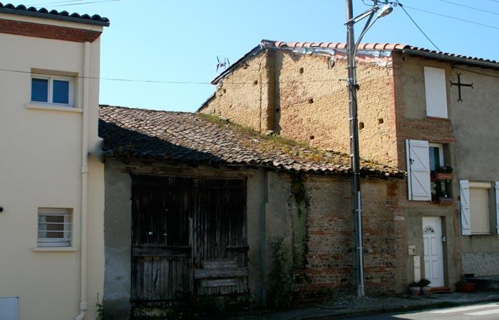 01 Surelevation Facade-cote-rue in Construction maison Aussonne (31)