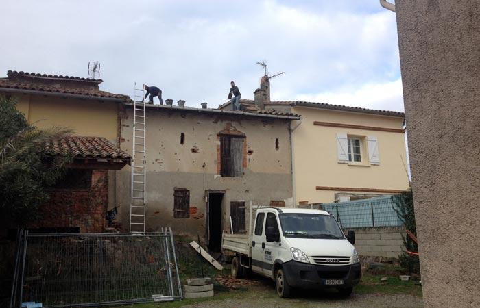 03 Demonte-couverture in Construction maison Aussonne (31)