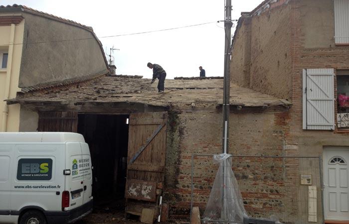 04 Demonte-toiture Cote-rue in Construction maison Aussonne (31)