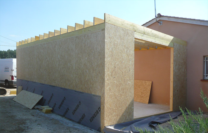04 Extension-Montauban Osb in Extension au sol dune maison à Montauban (82)