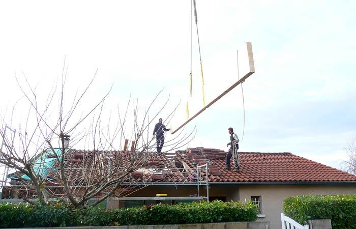 04 Ouverture-partielle-toiture in Surélévation Castres (81)