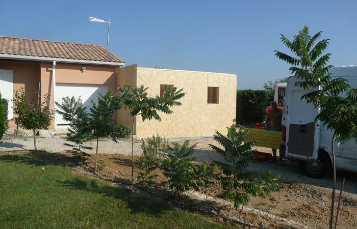 05 Extension-Montauban Osb2 in Extension au sol dune maison à Montauban (82)
