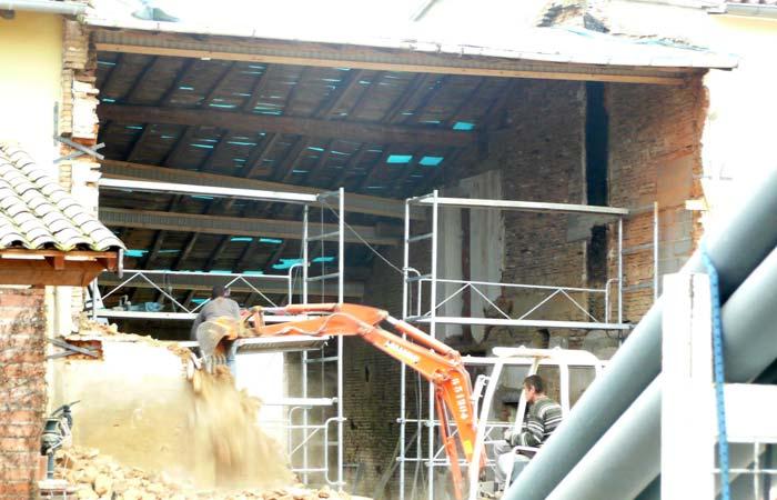 06 Demonte Etayage-murs-poutres in Construction maison Aussonne (31)