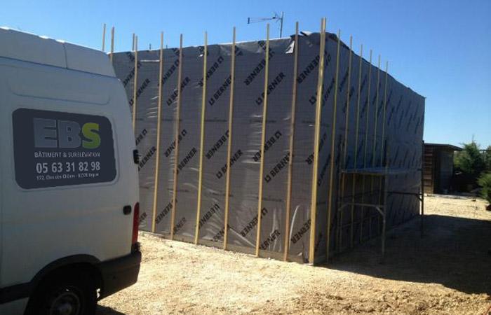 06 Extension-Montauban Parepluie in Extension au sol dune maison à Montauban (82)