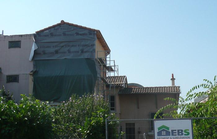 07-surelevation-bois-toulouse-31 in Surélévation, extension et rénovation de maison Toulouse centre (31)