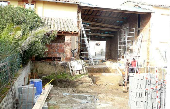 07 Terrassement in Construction maison Aussonne (31)