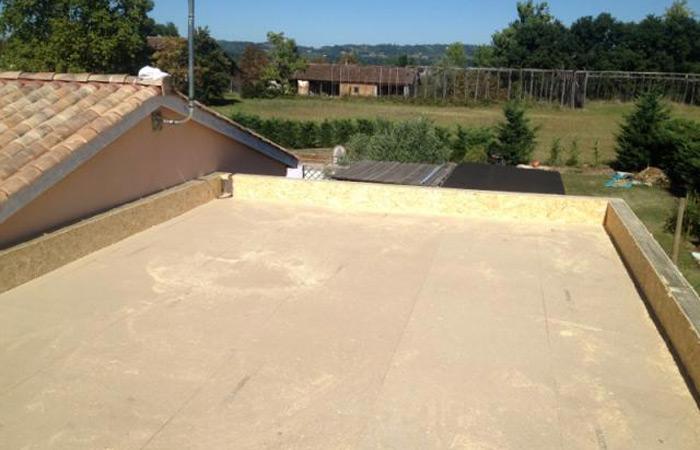 08 Extension-Montauban Toit-terrasse in Extension au sol dune maison à Montauban (82)