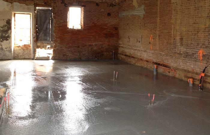 09 Dallage in Construction maison Aussonne (31)