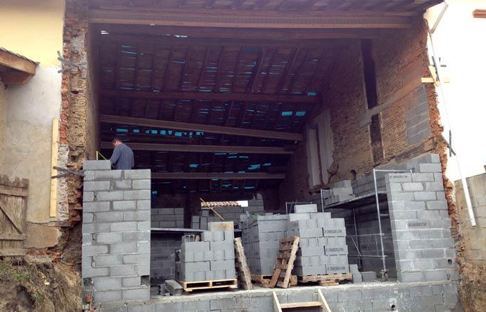 10 Batisse-des-murs in Construction maison Aussonne (31)