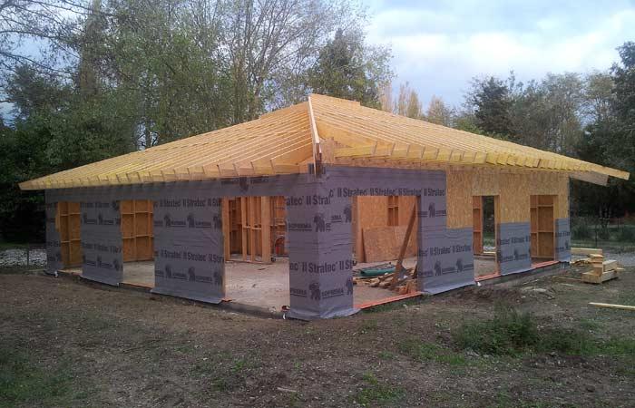 10 Construction-maison-bois Pare-pluie in Construction maison bois - Labarthe/Lèze (31)