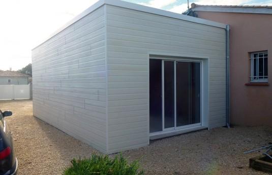 Extension au sol d une maison montauban 82 ebs for Entretien jardin montauban