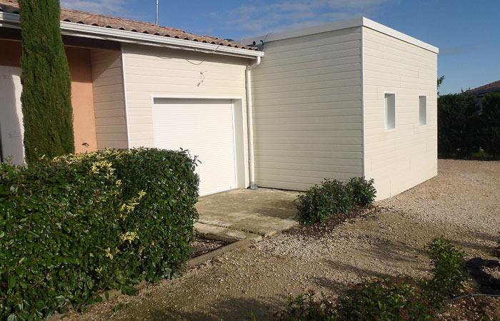11 Extension-Montauban Bardage in Extension au sol dune maison à Montauban (82)