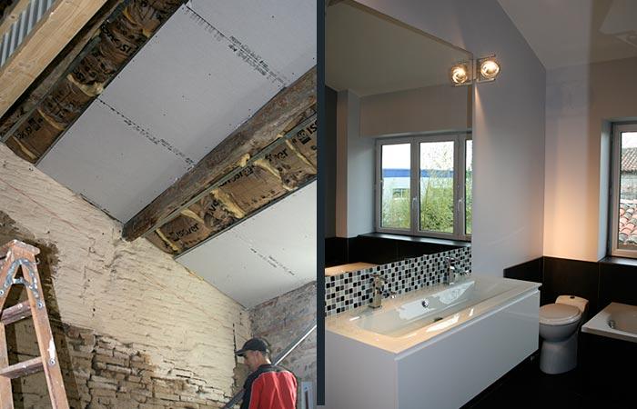 11 Renovation-Etage Isolation-Salle-de-bains in Rénovation maison Toulouse (31)