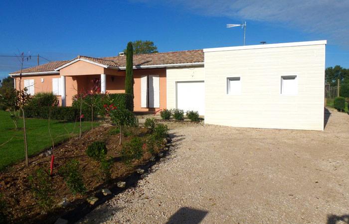 12 Extension-Montauban Bardage2 in Extension au sol dune maison à Montauban (82)