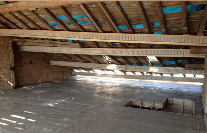 13 Dalle-plancher-Etayage in Construction maison Aussonne (31)