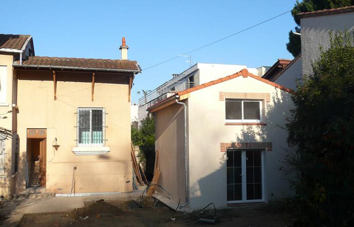 14 Surelevation-Toulouse-Annexe-final in Surélévation, extension et rénovation de maison Toulouse centre (31)
