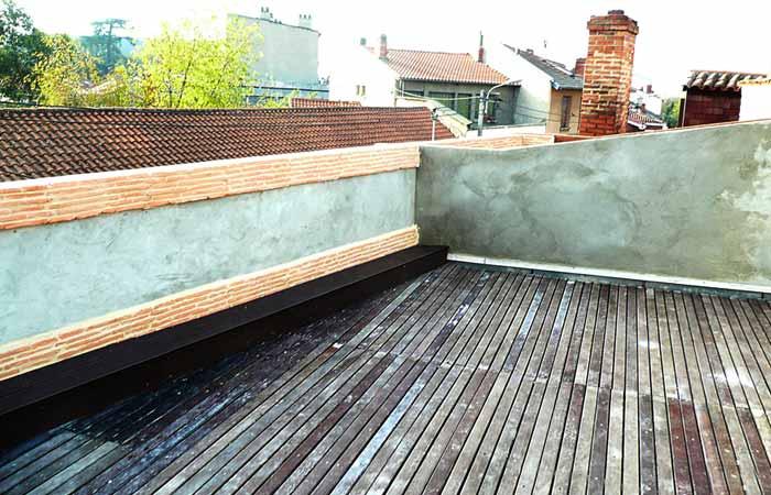 15 Creation-plancher Ouverture-charpente Terrasse in Archives / Surélévations