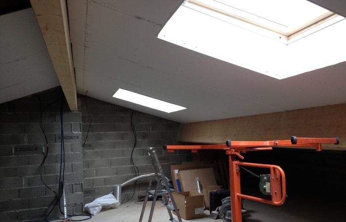 17 Placo in Construction maison Aussonne (31)