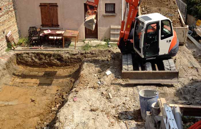 18 Terrassement-piscine in Construction maison Aussonne (31)