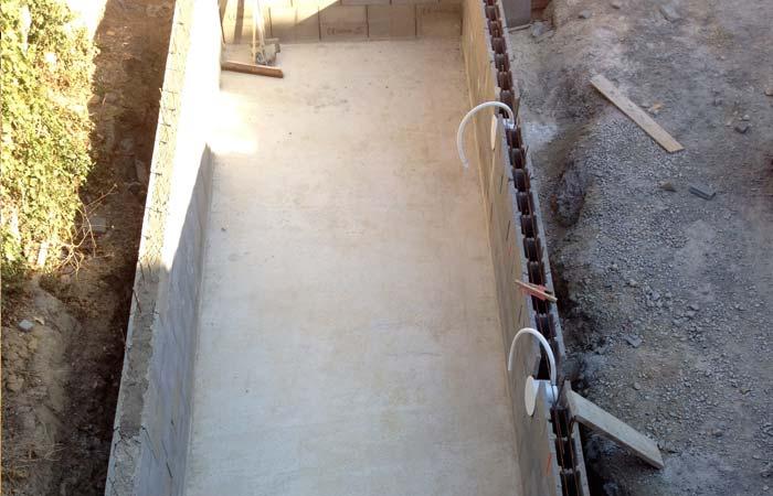 19 Dallage-piscine in Construction maison Aussonne (31)