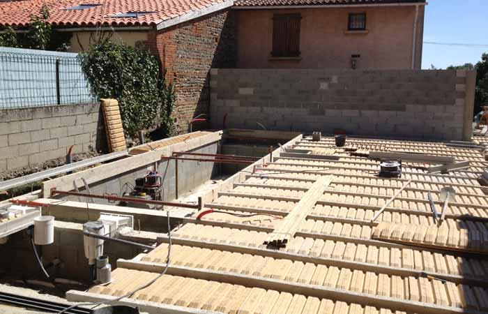 20 Piscine in Construction maison Aussonne (31)