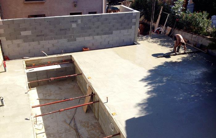 21 Dallage-exterieur in Construction maison Aussonne (31)