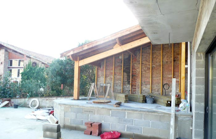 24 Cote-jardin-avant-finitions in Construction maison Aussonne (31)