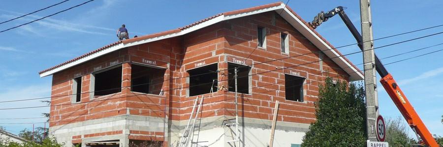 Surélévation d'une maison en bâti briques à Saint-Simon/Toulouse (31)