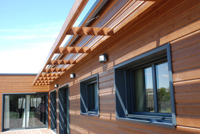 Maison-bois-extension-ebs in Constructeur de maison bois BBC à Toulouse (31) et en Midi-Pyrénées