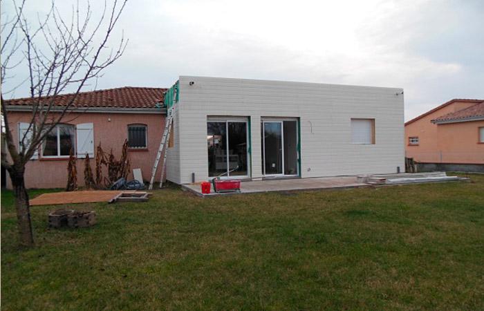 11 Extension-maison-bardage1 in Extension au sol dune maison à Bruguières (31)