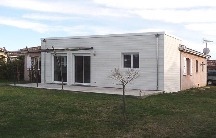 Extension Au Sol D'une Maison à Bruguières (31)