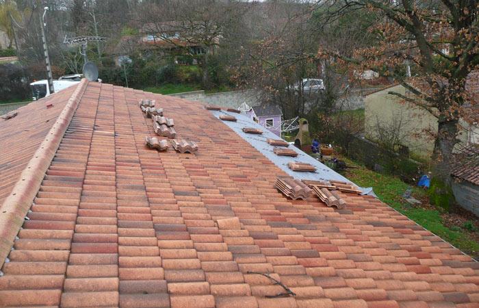 02-Surelevation-maison-Fonsorbes-Ouverture-toiture in Surélévation dune maison à Fonsorbes (31)