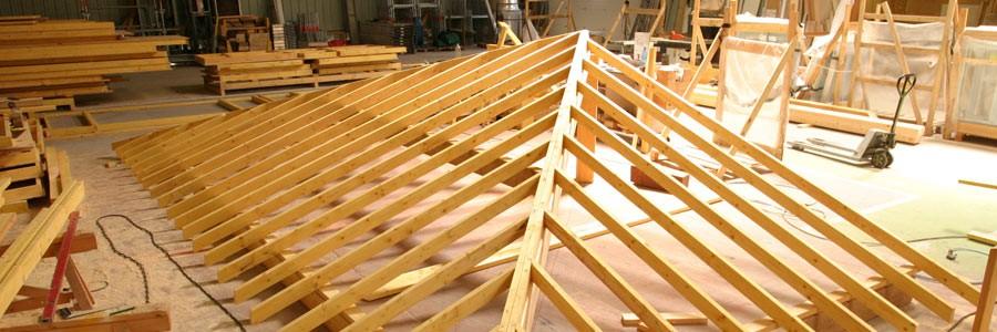Fabrication de charpente pour extension par surélévation à Toulouse