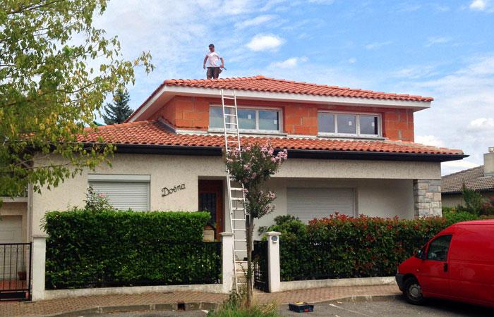 10-surelevation-maison-briques-tournefeuille in Surélévation maison Tournefeuille (31)