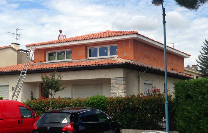11-surelevation-maison-briques-tournefeuille in Surélévation maison Tournefeuille (31)