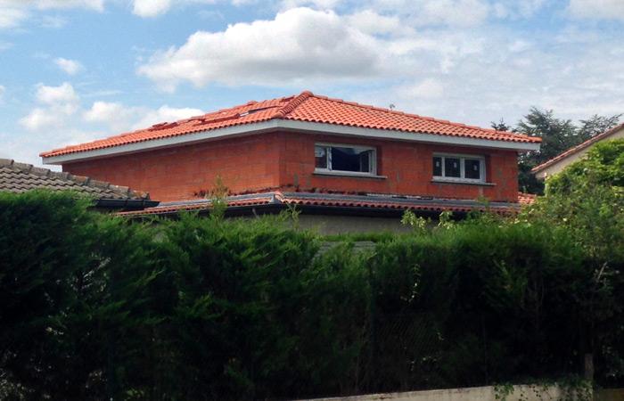 12-surelevation-maison-briques-tournefeuille in Surélévation maison Tournefeuille (31)