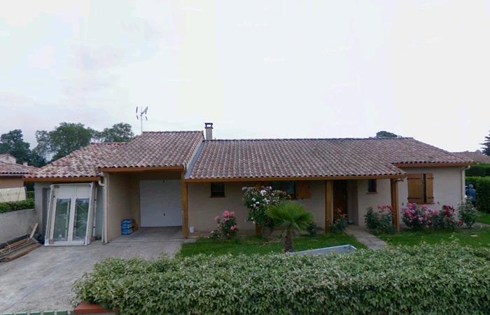 00-Surelevation-Launaguet-Maison in Surélévation maison à Launaguet (31)