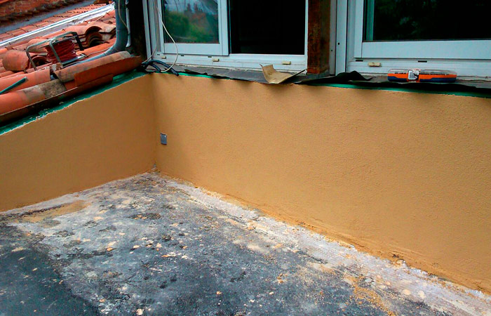 07-EXTENSION-TERRASSE-ENDUISAGE in Création dune terrasse bois - Toulouse centre