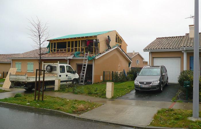 06 SURELEVATION-MAISON-AUSSONNE in Surélévation maison à Aussonne
