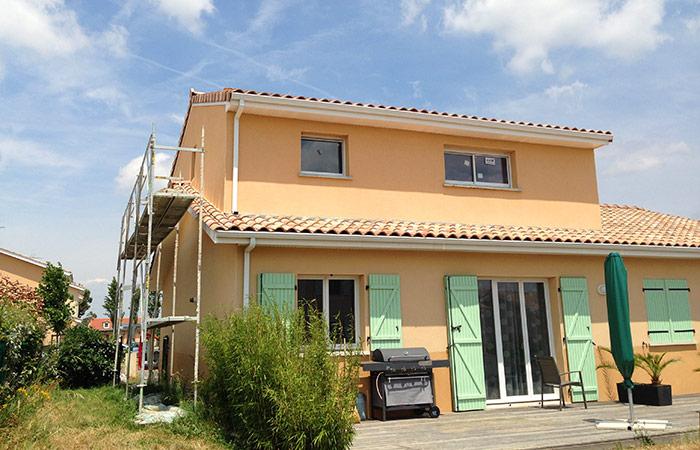 15 SURELEVATION-MAISON-AUSSONNE-final in Surélévation maison à Aussonne