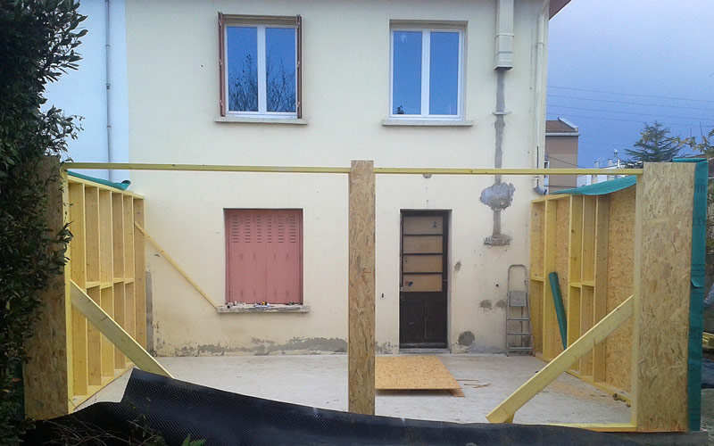 02-extension-maison-toulouse in Extension bois / bardage composite à Toulouse (31500)