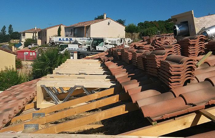 06-SURELEVATION-MAISON-ST-PAUL in Surélévation dune maison - Saint Paul sur Save (31)