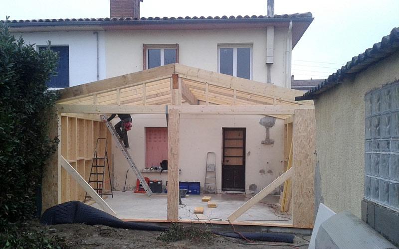 06-extension-maison-toulouse in Extension bois / bardage composite à Toulouse (31500)