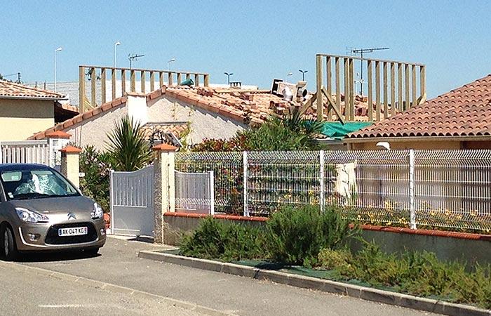 08-SURELEVATION-MAISON-ST-PAUL-STRUCTURE in Surélévation dune maison - Saint Paul sur Save (31)
