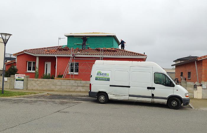 06-Surelevation-Colomiers-4pentes-etancheite in Surélévation maison à Colomiers (2)