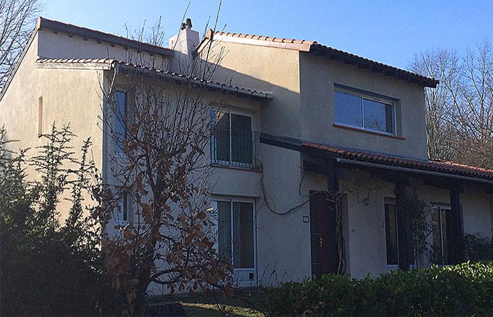 07-Surelevation-Auzeville-finalisee in Surélévation dune maison à Auzeville (31)