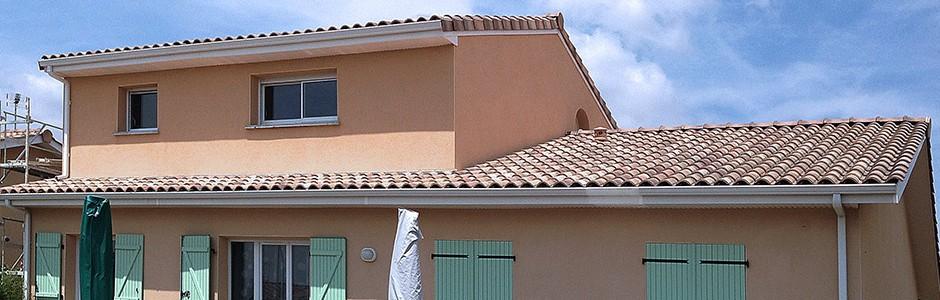 Surélévation d'une maison à Aussonne (31)