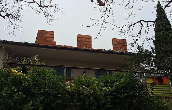 01-Surelevation-maison-montaigut-briques in Surélévation dune maison à Montaigut-sur-Save (31)